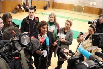Sinn Fein leader Mary Lou McDonald, photo Sinn Fein