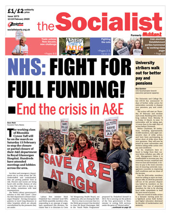 The Socialist issue 1073