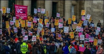 photo Leeds UCU