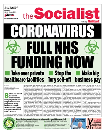 The Socialist issue 1077
