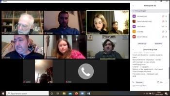Leeds Socialist Party meeting via Zoom