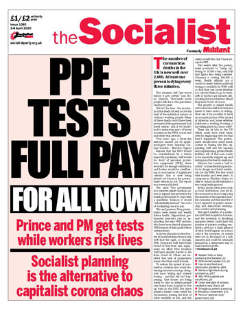 The Socialist issue 1080