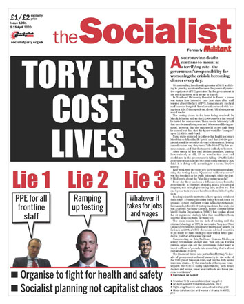 The Socialist issue 1081
