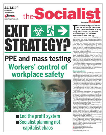 The Socialist issue 1082