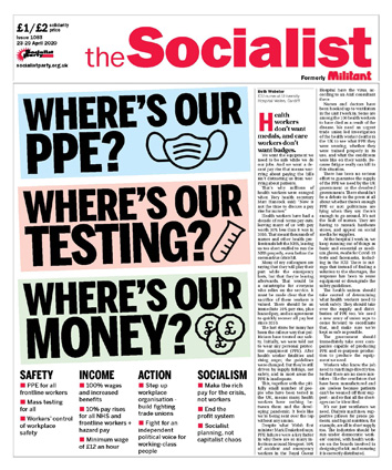 The Socialist issue 1083