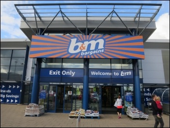 B&M Bargains, photo Hugh Venables/CC