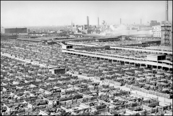 Meat packing in the early 20th century