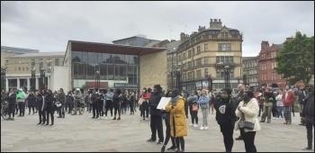BLM demo, Bradford, June 2020