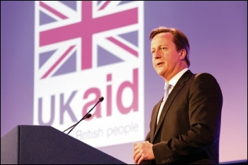 UK governments have consistently used overseas aid to benefit British capitalism, photo by DFID/CC