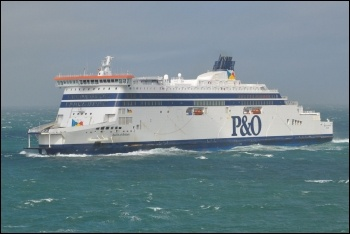 P&O has announced 856 job cuts in ferries, photo by Robert Cutts/CC
