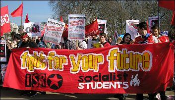 Anti-War demonstration 19 March 2005, photo Paul Mattsson