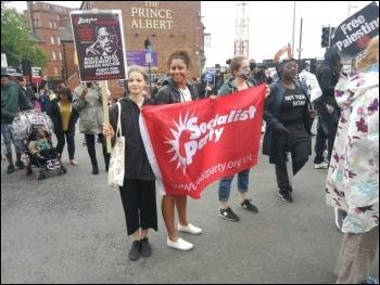 Wolverhampton Black Lives Matter protest June 2020