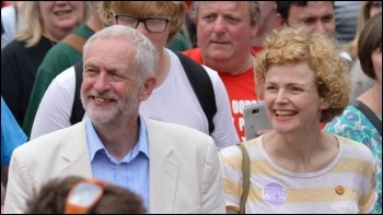 Maxine Peake (right), a member of E