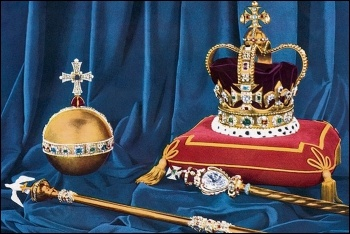 The crown is an institution the establishment can use against democratic rights to defend capitalism