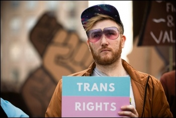 Fight for trans rights, photo by Tom Wolf/CC