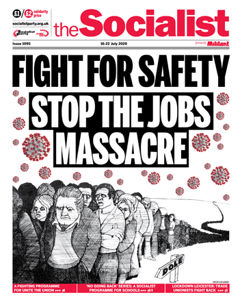 The Socialist issue 1095