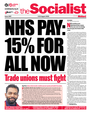 The Socialist issue 1097