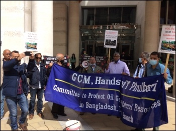 London protest on Phulbari Day demands delisting of GMC from the London Stock Exchange