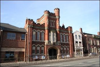 Drill Hall, Lincoln, photo Richard Croft/CC