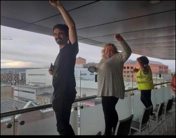 Debenham's workers occupy Dublin store September 2020