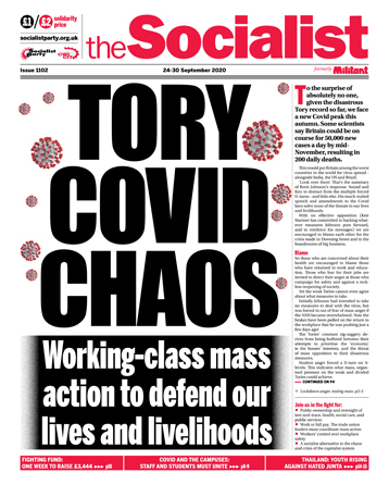 The Socialist issue 1102