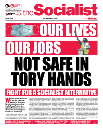 The Socialist issue 1108