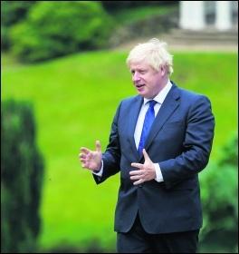 Boris Johnson / Pippa Fowles No10