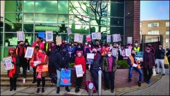 School strike rally 12 Nov photo: James Ivens