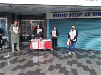 Campaigning in Leicester