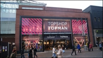 Topshop and Topman are under threat, photo Mtaylor848/CC