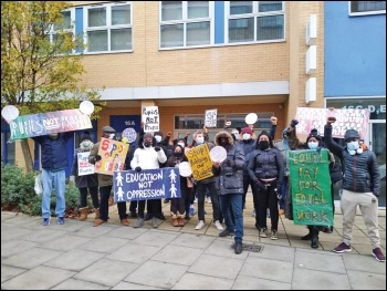 Leaways school strike