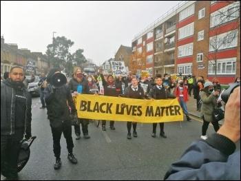 Tottenham protest against police racism