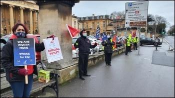 Royal Berks Hospital Strike, Photo: John Gillman