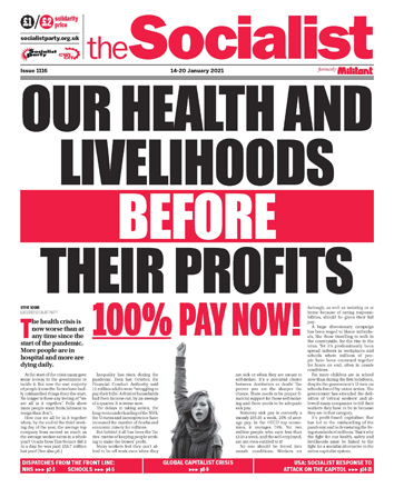 The Socialist issue 1116