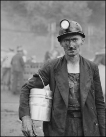 Orwell joined a shift at a coal mine and wrote about the terrible working conditions of miners, photo Russell Martin/CC