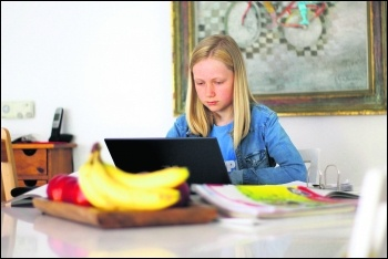 Child home schooled