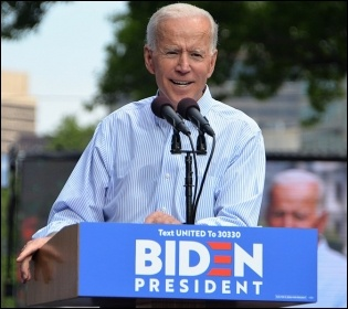 Joe Biden, photo Michael Stokes/CC