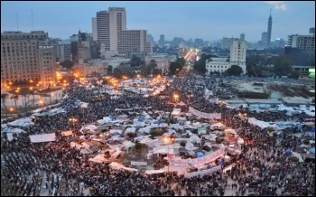 Tahrir Square, Egypt 2011, photo Jonathan Rashad/CC