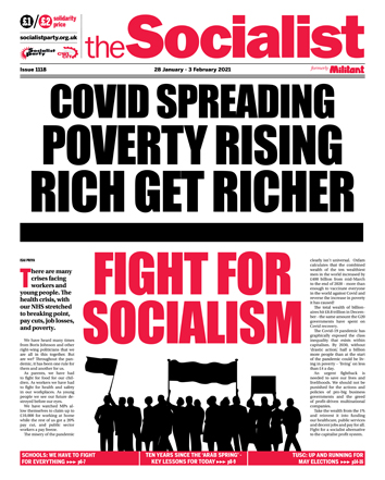 The Socialist issue 1118