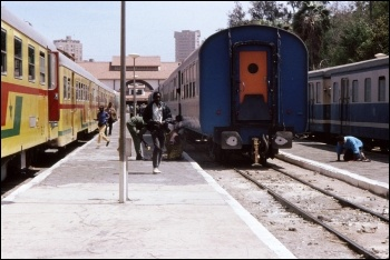 The Dakar to Niger railway today. In 1947 railroad workers successfully struck for several months to obtain equal rights Yaamboo/CC