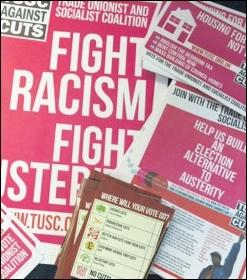 TUSC leaflets