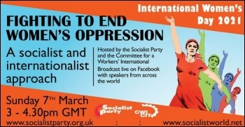 International Women's Day rally