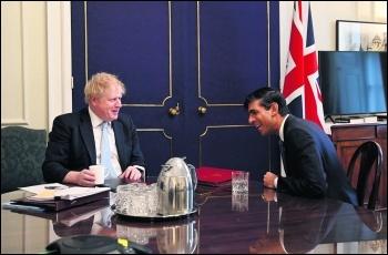 Boris Johnson and Rishi Sunak. Photo: Andrew Parsons,10 Downing Street/CC