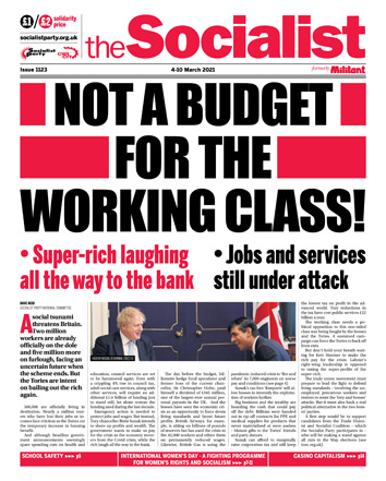 The Socialist issue 1123