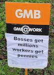 GMB placard