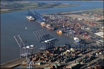 Port of Felixtowe. Photo: John Fielding/CC