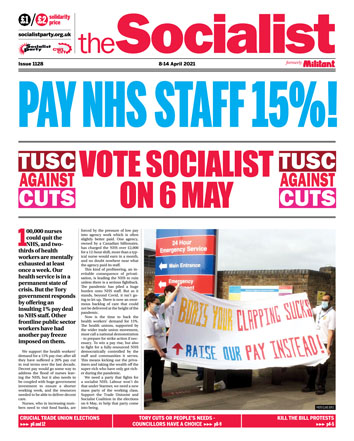 The Socialist issue 1128
