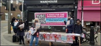 Waltham Forest campaign stall