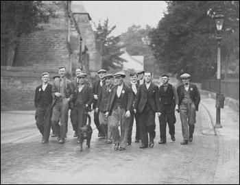 Unemployed workers from Jarrow marching to London in 1936, photo National Media Museum/CC