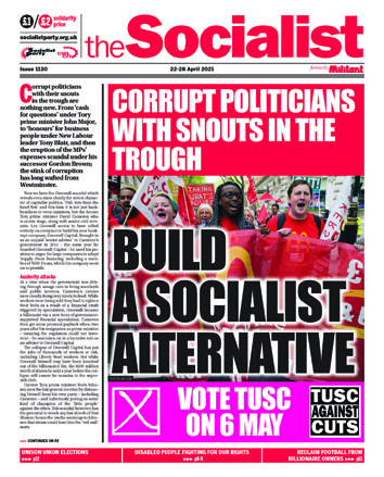 Socialist Issue 1130: Build a socialist alternative